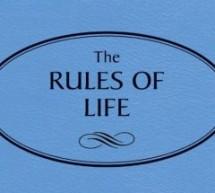 Dhjetë rregulla bazë për një jetë sa më të mirë…