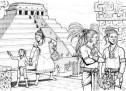 Majat, Aztekët dhe Inka